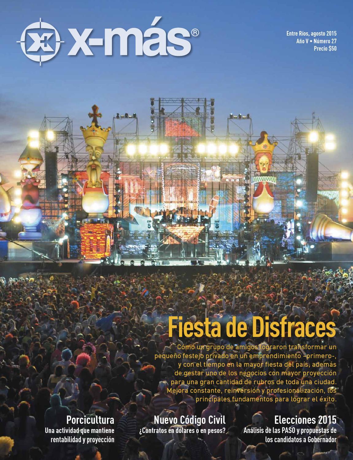 d760c12691 X-Más - Revista Nº 27 - Agosto 2015 by Martin Oleinizak - issuu