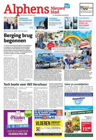 365b1a33b8d4a1 Alphens Nieuwsblad week37 by Wegener - issuu