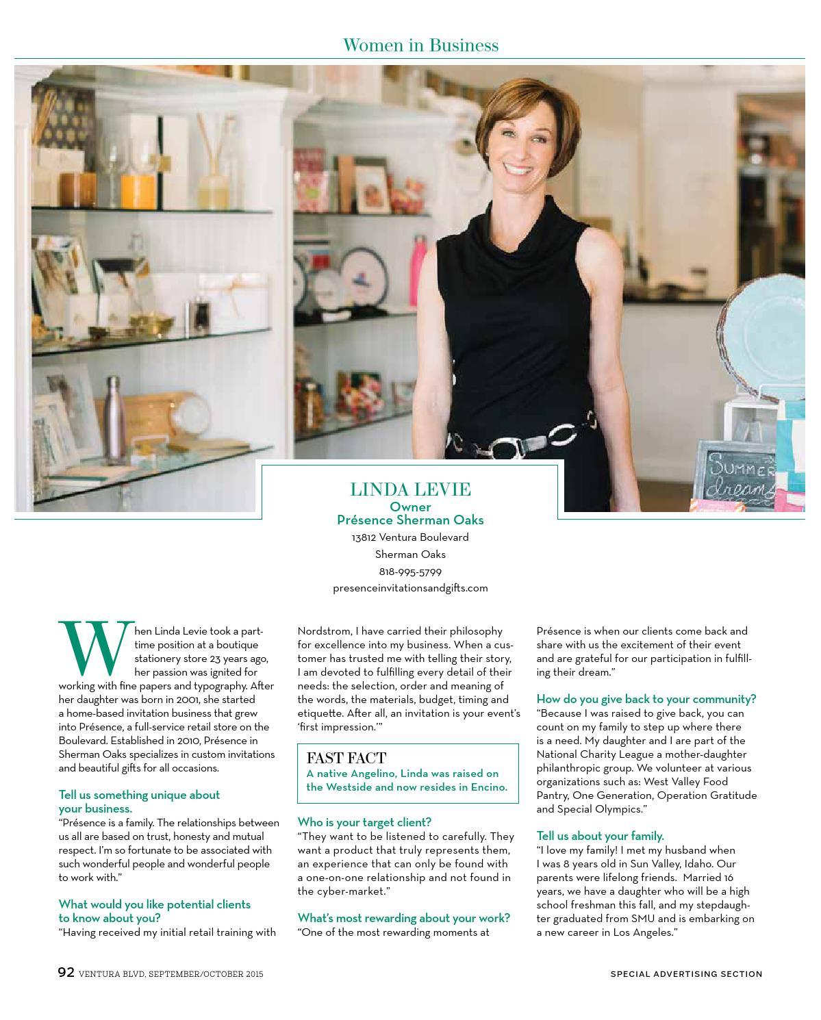 Ventura Blvd Magazine - September/October 2015 by Moon Tide