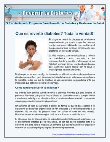 revertir la diabetes sergio russo libro pdf descargar
