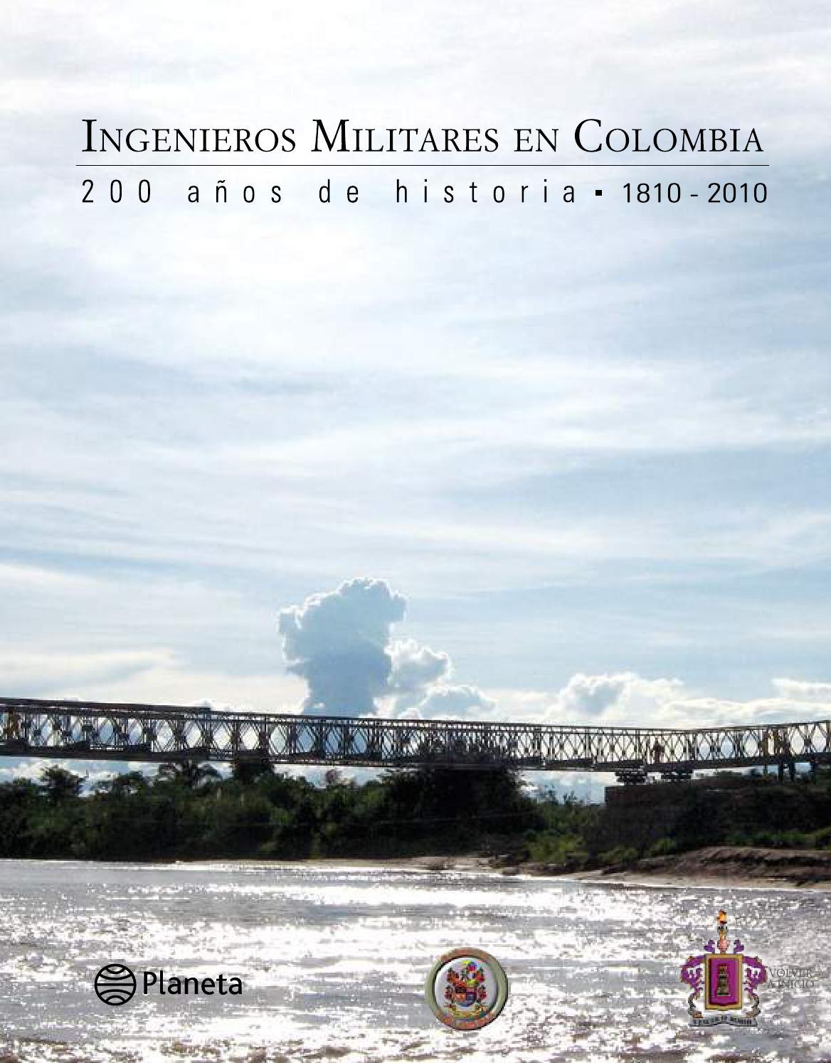 Ingenieros Militares En Colombia 200 A Os De Historia 1810 2010  # Muebles Ferreira Buga
