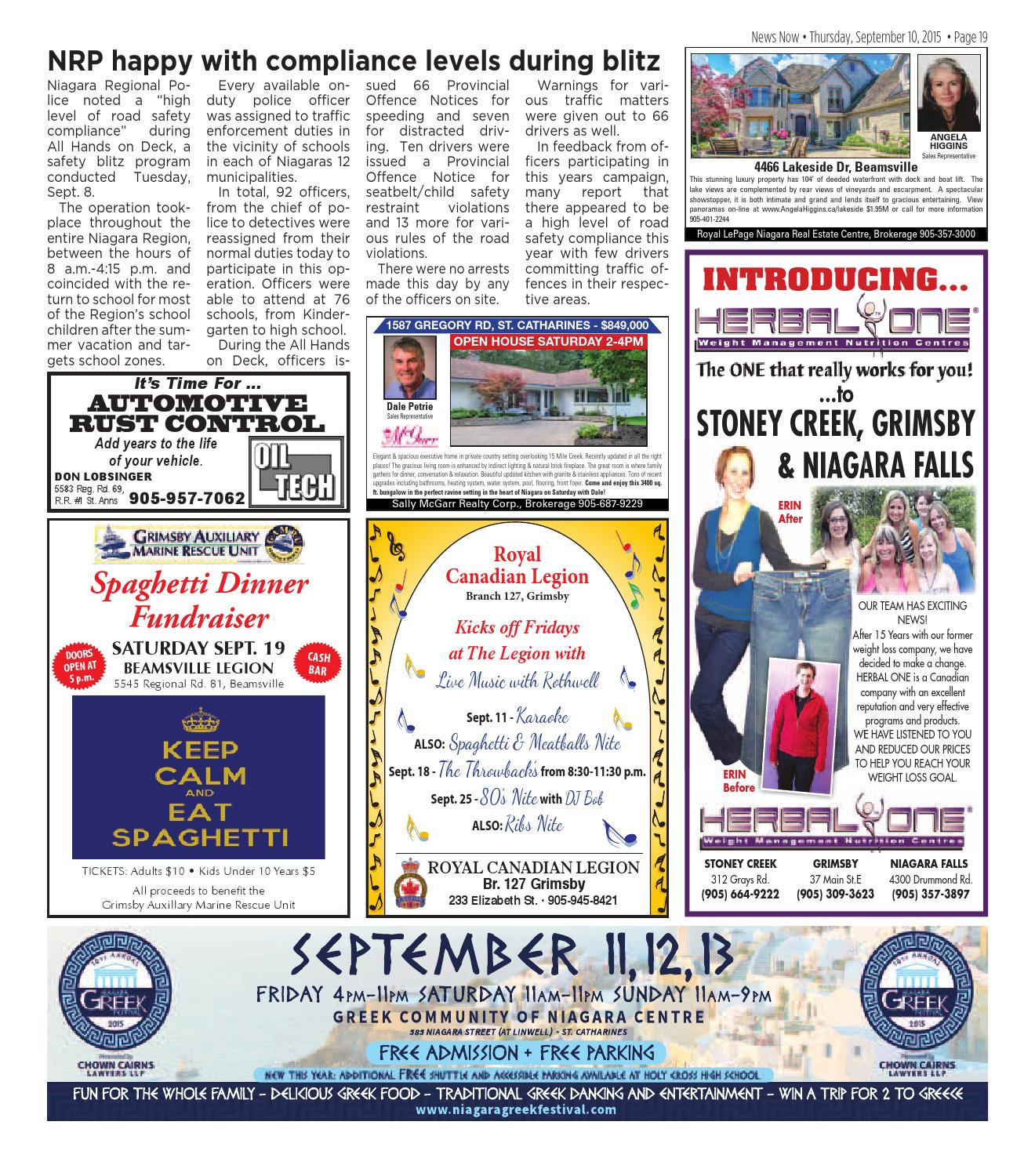 newsnow Niagara e-edition September 10 2015 by newsnow Niagara - issuu