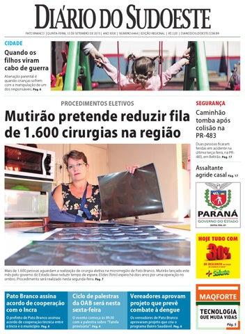 4515df1e57 Diário do sudoeste 10 de setembro de 2015 ed 6464 by Diário do ...