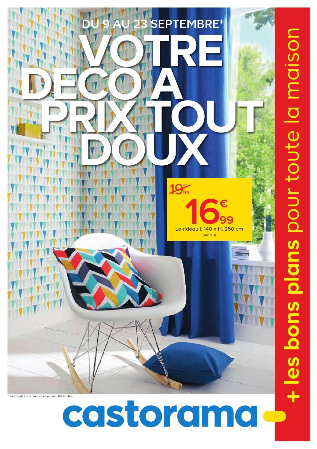 castorama catalogue 9 23septembre2015 by issuu. Black Bedroom Furniture Sets. Home Design Ideas