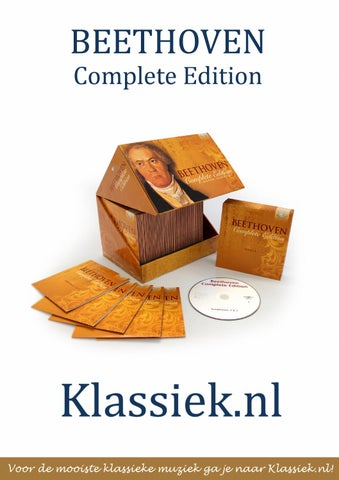 Beethoven Complete Edition By Klassiek Nl Issuu