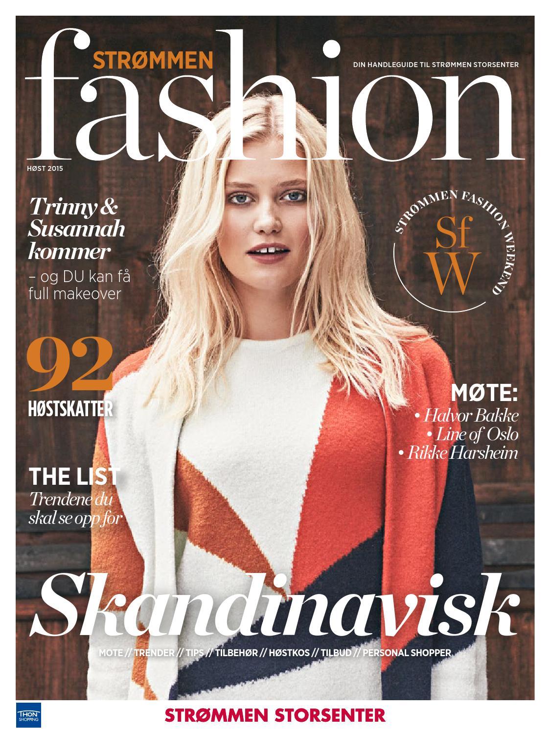 Strommen Fashion Weekend By Strommen Storsenter Issuu