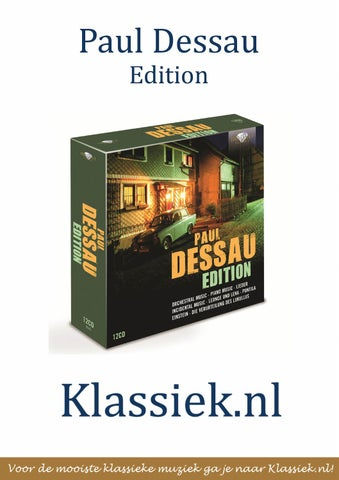 Klassiek Dessau Edition Issuu Paul By nl CxBode