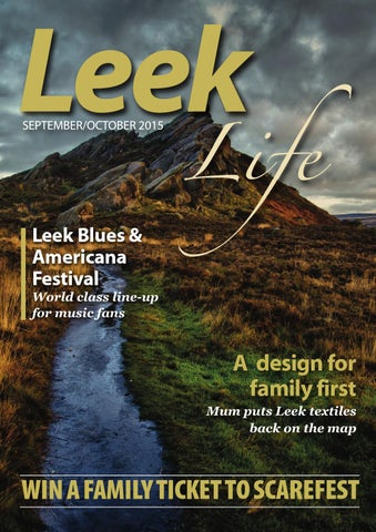 Leek Life Sept Oct 2015 by Times Echo and Life - issuu