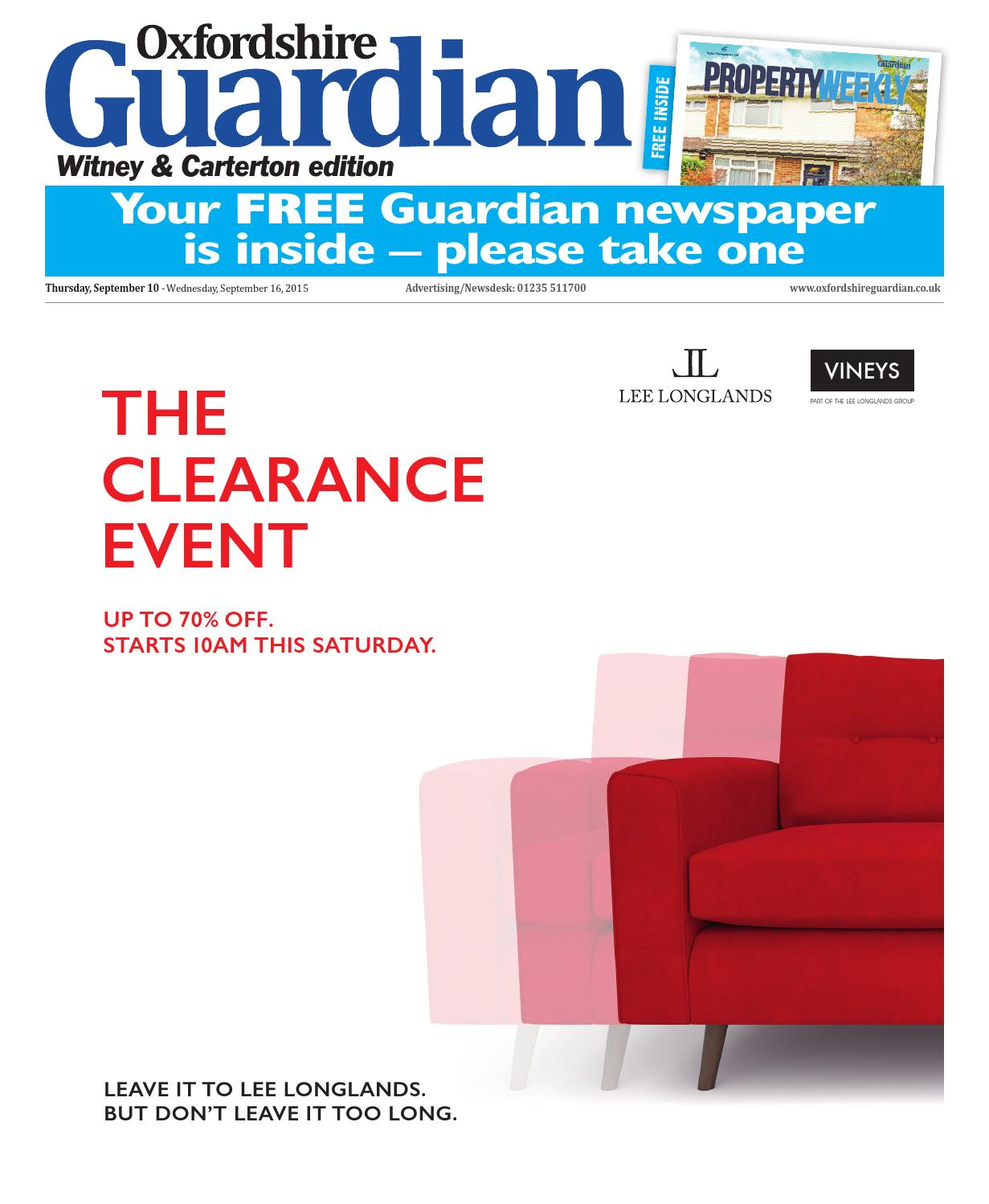 foto de 10 september 2015 oxfordshire guardian witney by Taylor Newspapers ...