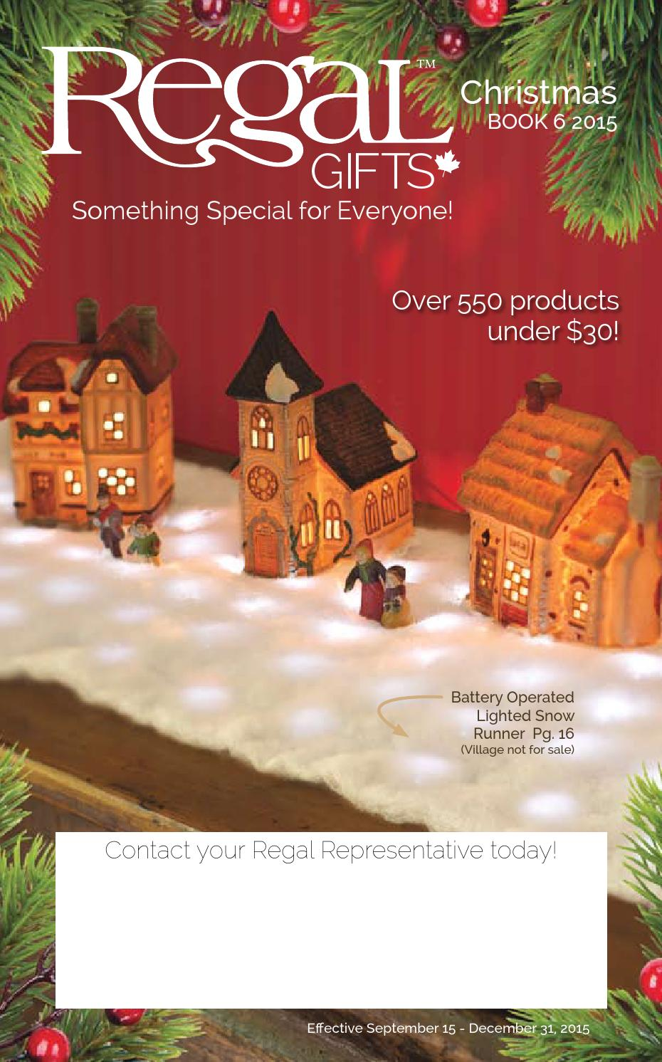 Regal Gifts Christmas Book 6 2015 by Regal Home & Gifts Inc. - issuu