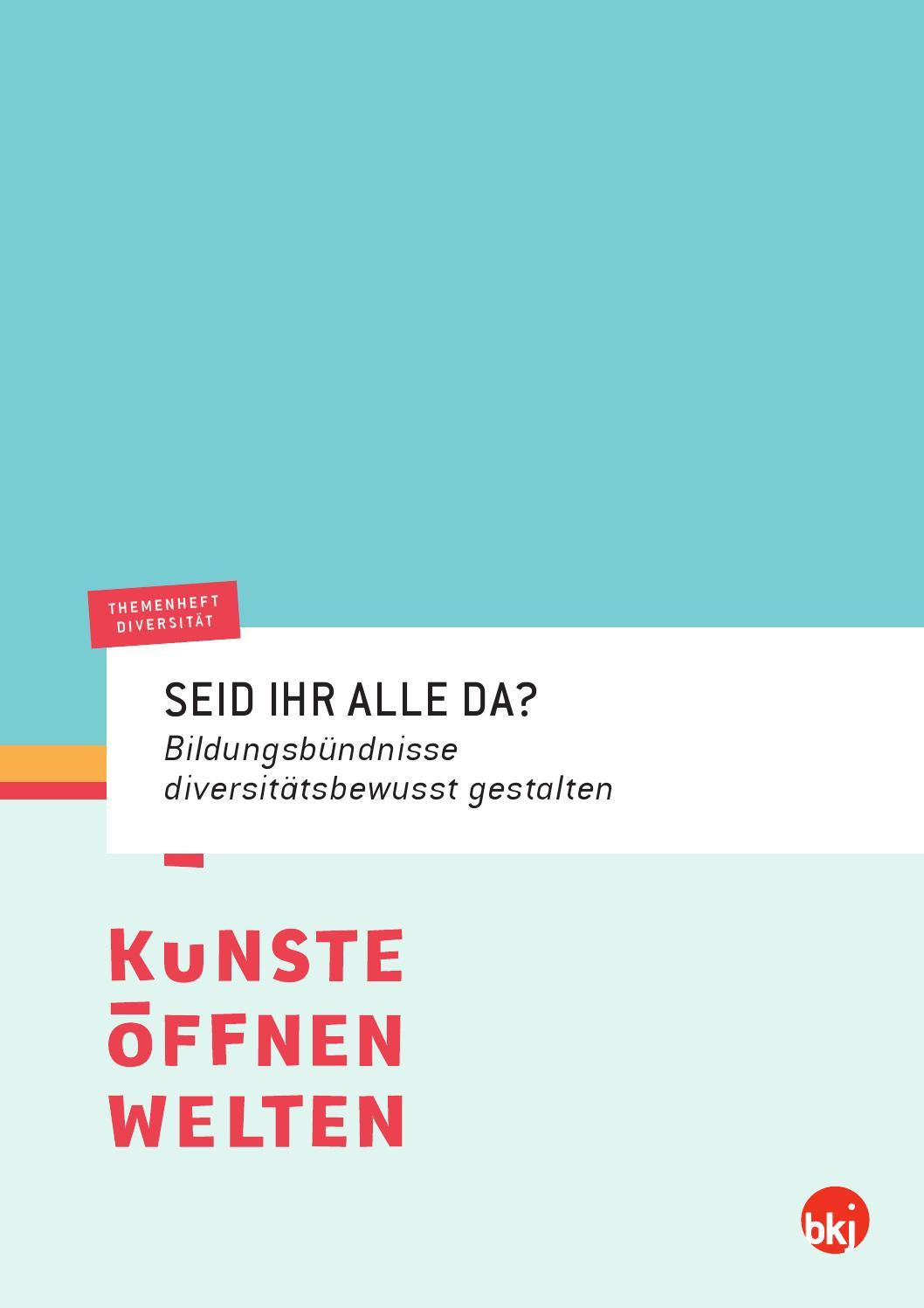 Themenheft Diversität. SEID IHR ALLE DA? BKJ 2014 by BKJ e. V. - issuu