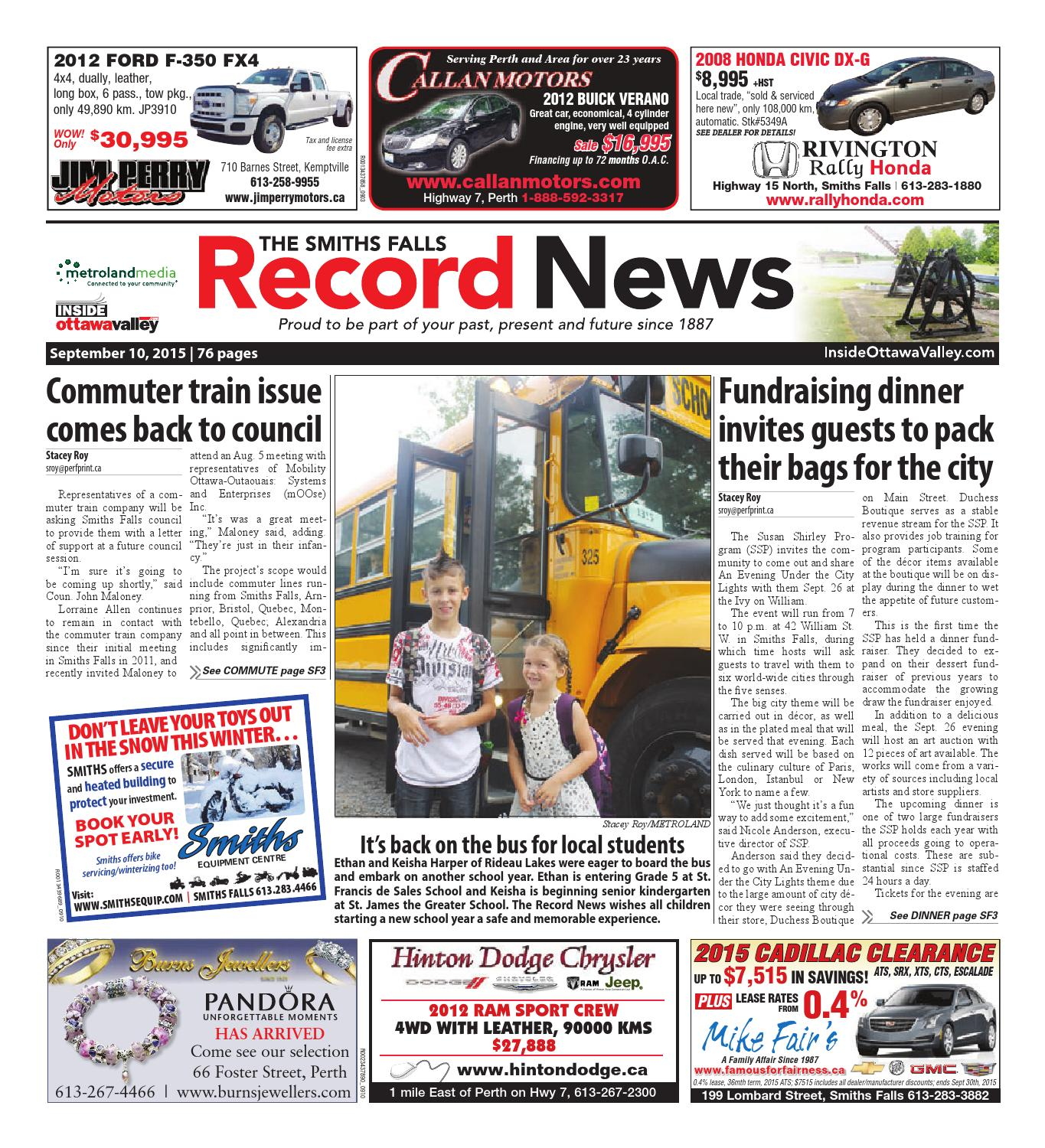 0c282cce30db Smithsfalls091015 by Metroland East - Smiths Falls Record News - issuu