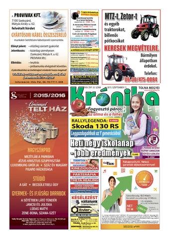 TM Krónika 33. szám by Tolna Megyei Krónika - issuu 7dccbc3dfd