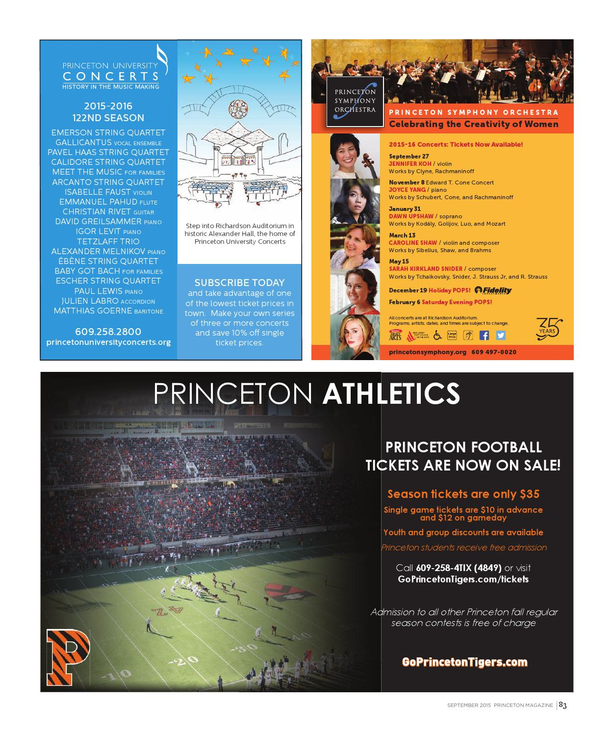 Princeton Magazine, September 2015 by Witherspoon Media