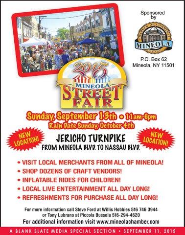 Mineola Street Fair By The Island Now
