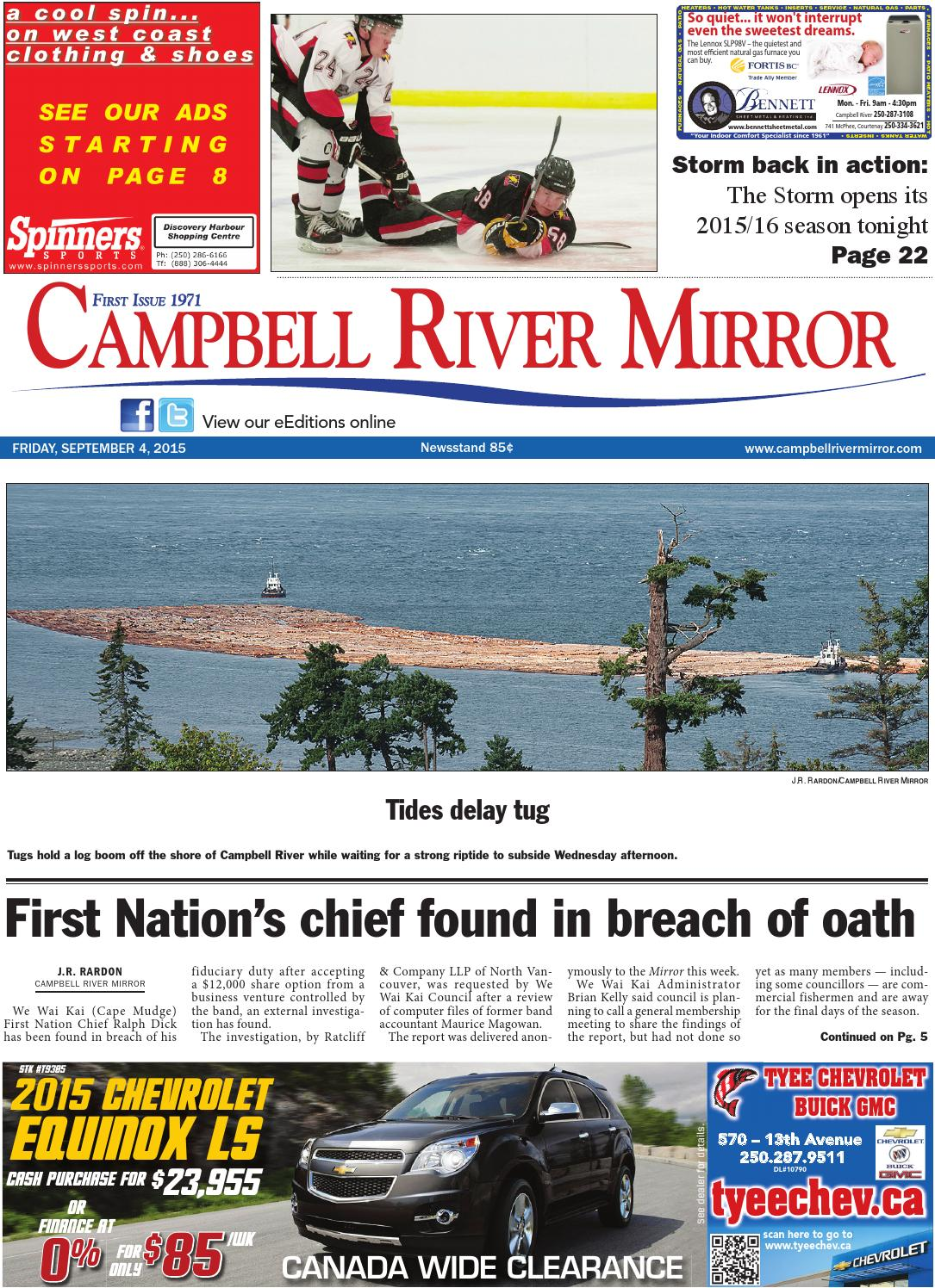 Campbell River Mirror 7cc9174917034