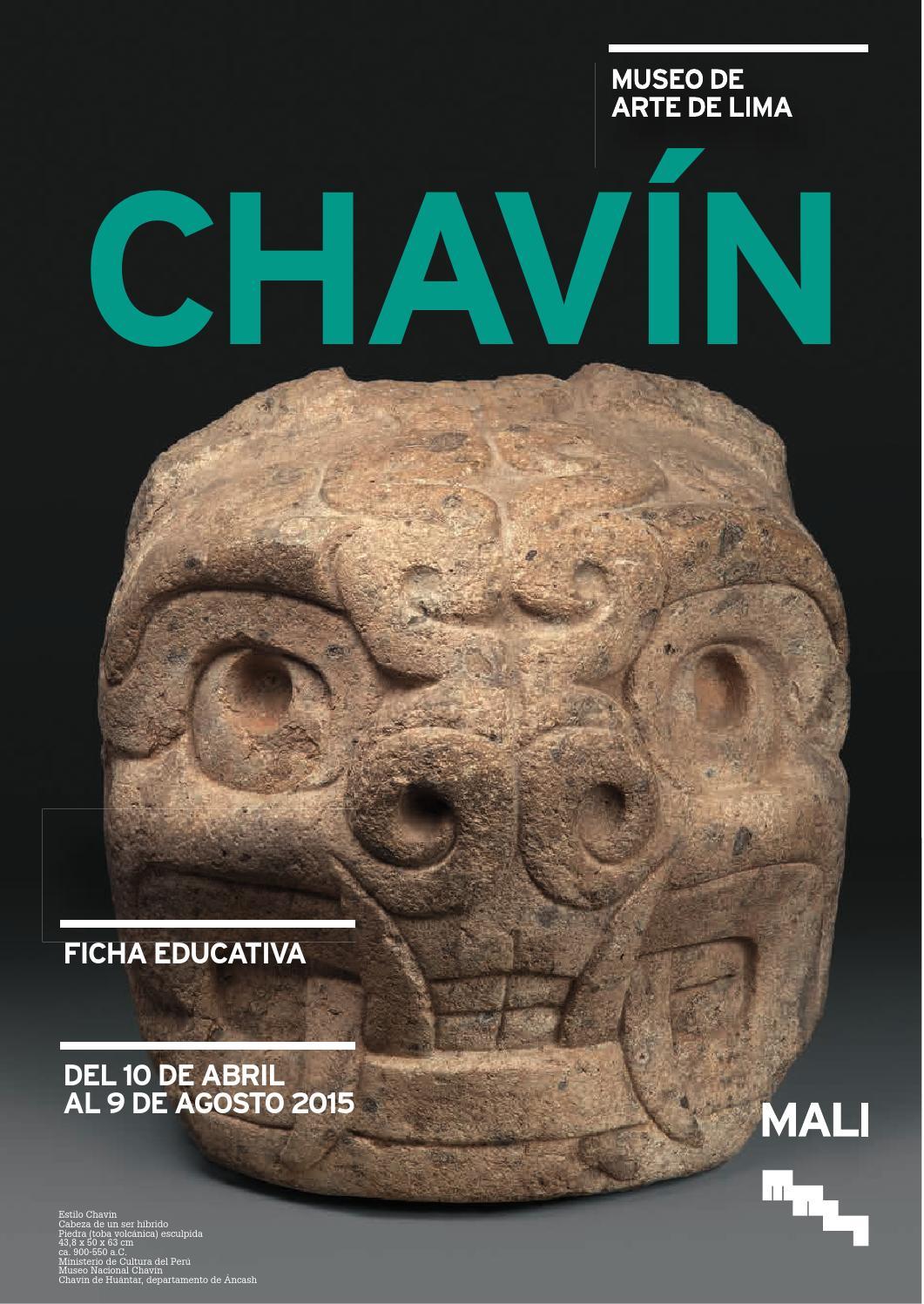 Chav n ficha para docentes by museo de arte de lima for Todo acerca de la arquitectura