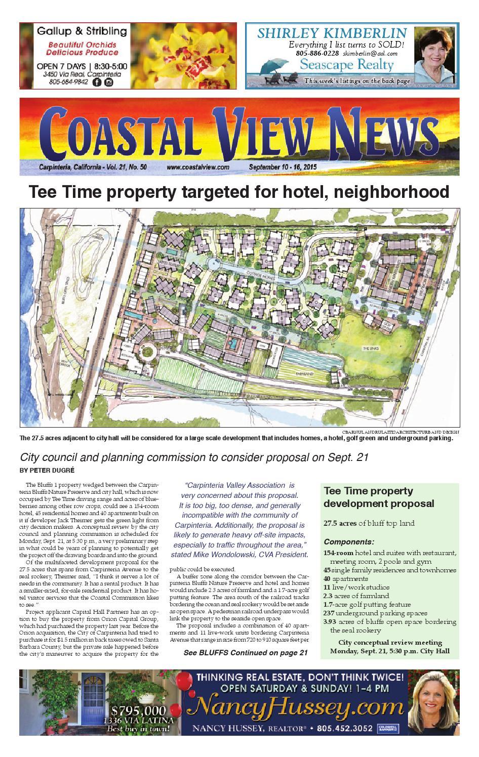 a63ab95cf479 091015 cvn by Coastal View News - issuu