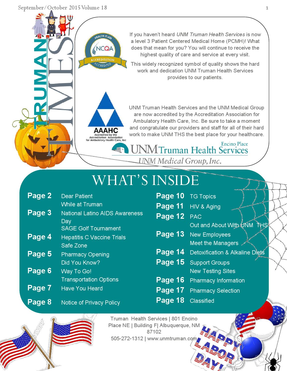 Septemberoctober 2015 by unm truman health services issuu biocorpaavc Gallery