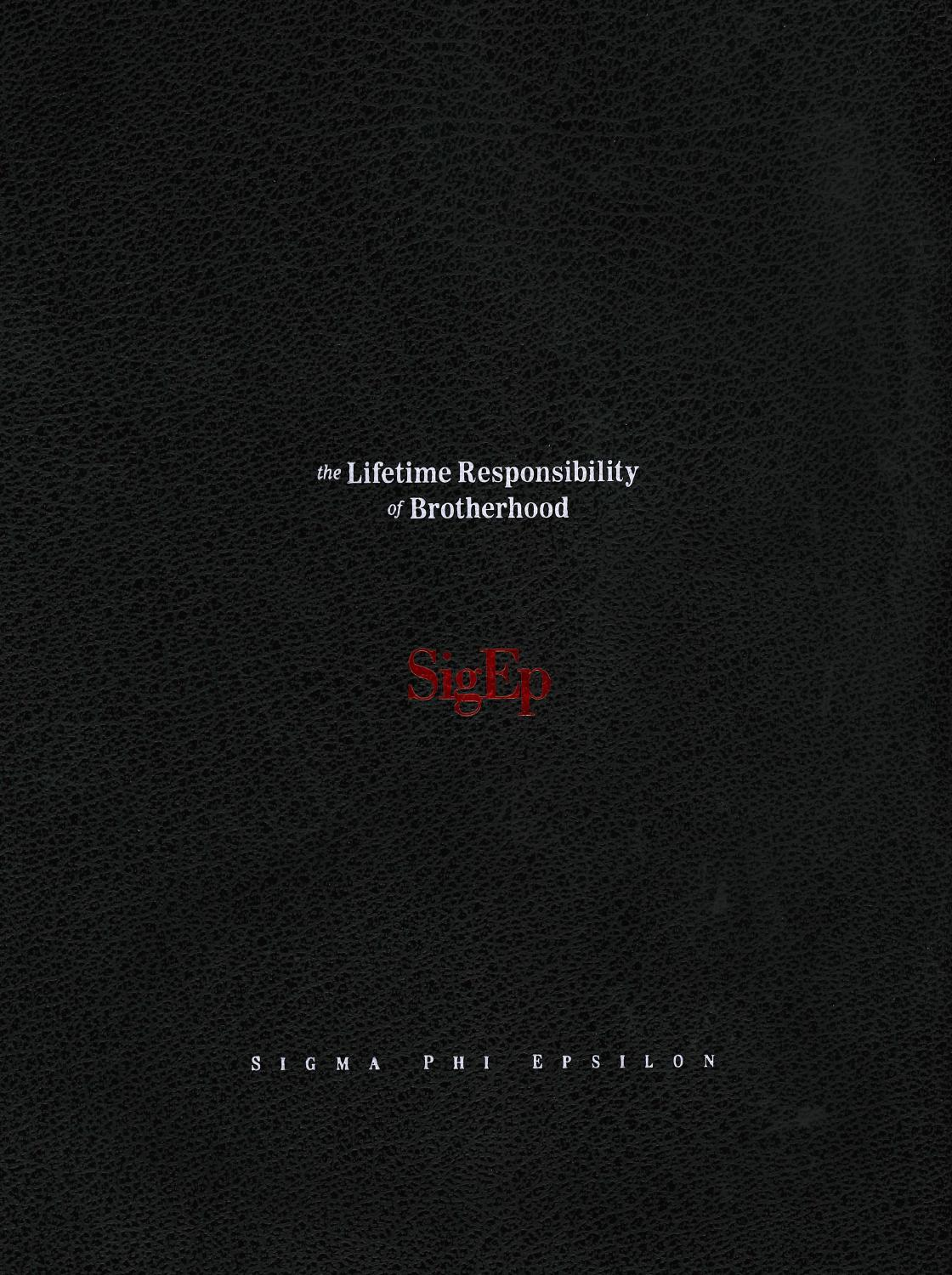 37fb5468b34 The Lifetime Responsibilities of Brotherhood by Sigma Phi Epsilon - issuu