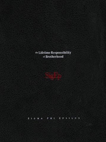 ea4436c27d9ecb The Lifetime Responsibilities of Brotherhood by Sigma Phi Epsilon ...