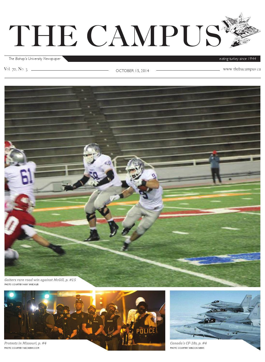The Campus October 15, 2014 by The Campus Newspaper - issuu