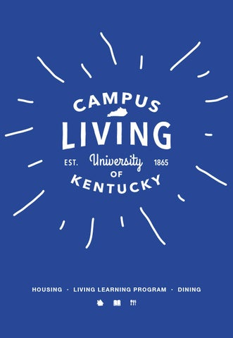 2016 2017 university of kentucky living on campus brochure by uk