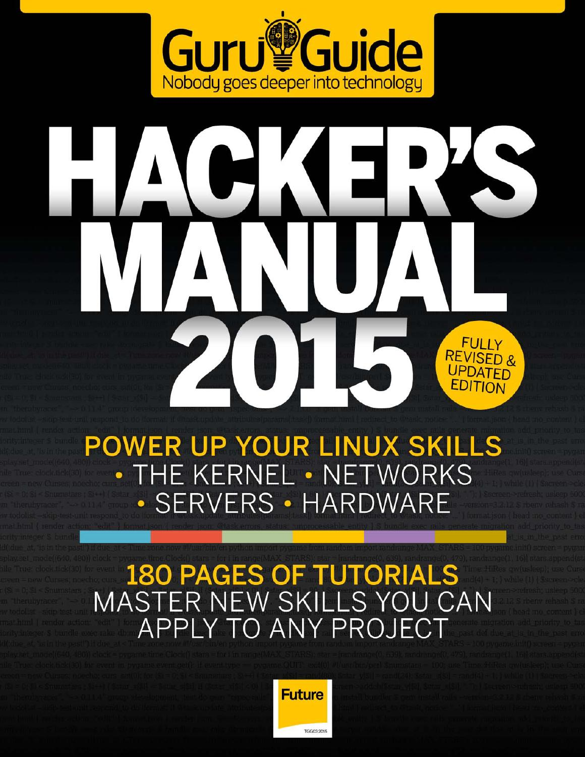 The hackers manual 2015 revised edition by Gerson Villa