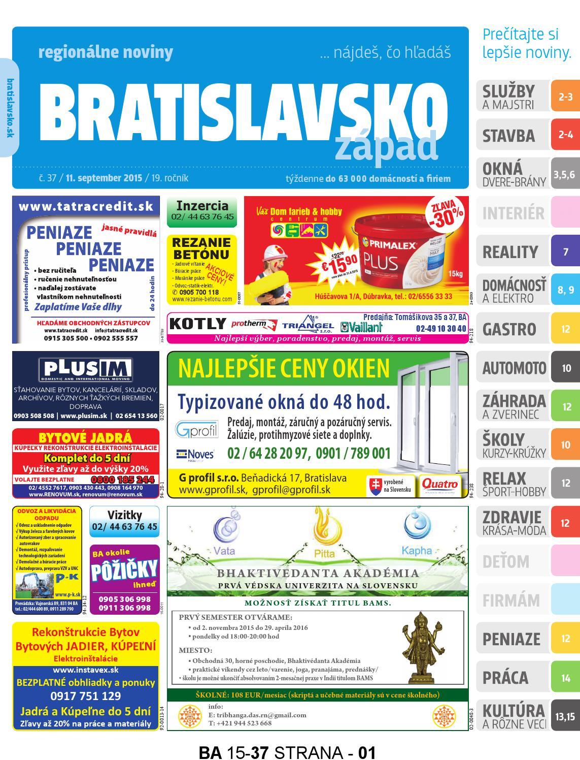565fc4fa8 Bratislavsko 15-37 by Bratislavsko Bratislavsko - issuu