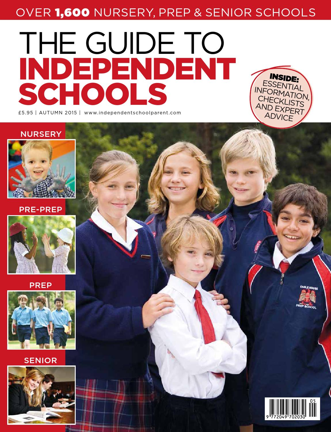 Independent School Parent Schools Guide Autumn 2016 by The Chelsea Magazine  Company - issuu