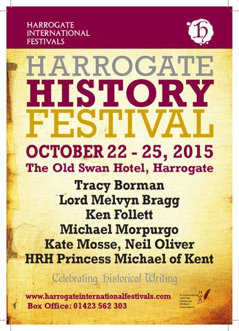 2017 theakston old peculier crime writing festival event guide by 2015 harrogate history festival event guide fandeluxe Gallery