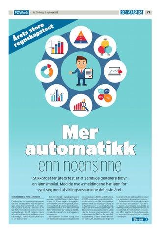 090515f8 PC World Norge kårer årets beste økonomisystem 2015 by Uni Micro AS ...
