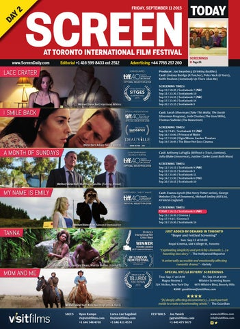 Screen TIFF Day 3 2015 by Media Business Insight issuu