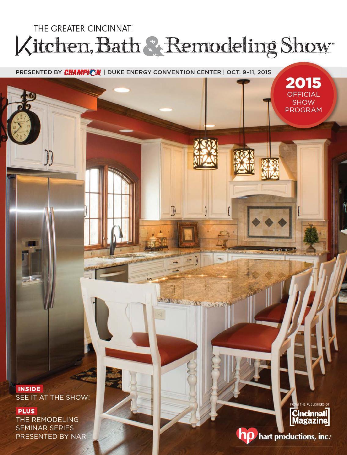 Amazing The Greater Cincinnati Kitchen, Bath U0026 Remodeling Show Program 2015 By  Cincinnati Magazine   Issuu