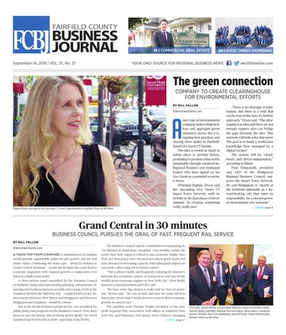 Fairfield County Business Journal 091415 By Wag Magazine