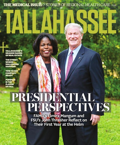 Tallahassee Magazine Septemberoctober 2015 By Rowland Publishing