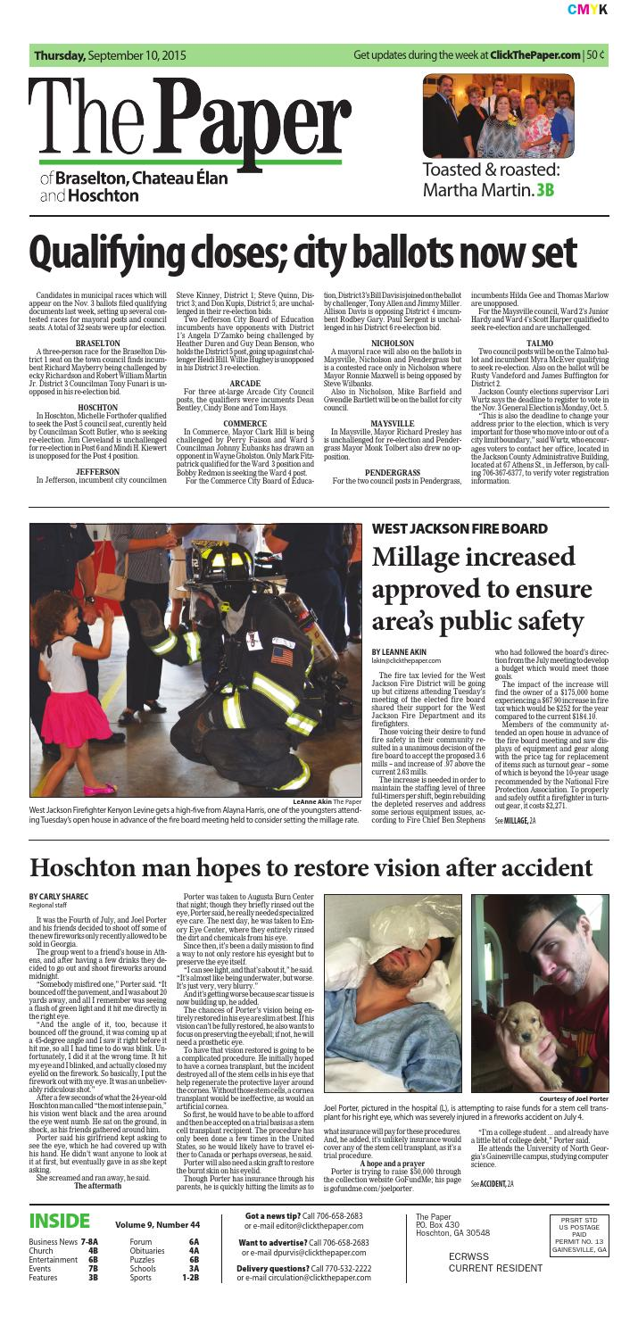 The Paper September 10 2015 Edition By Times