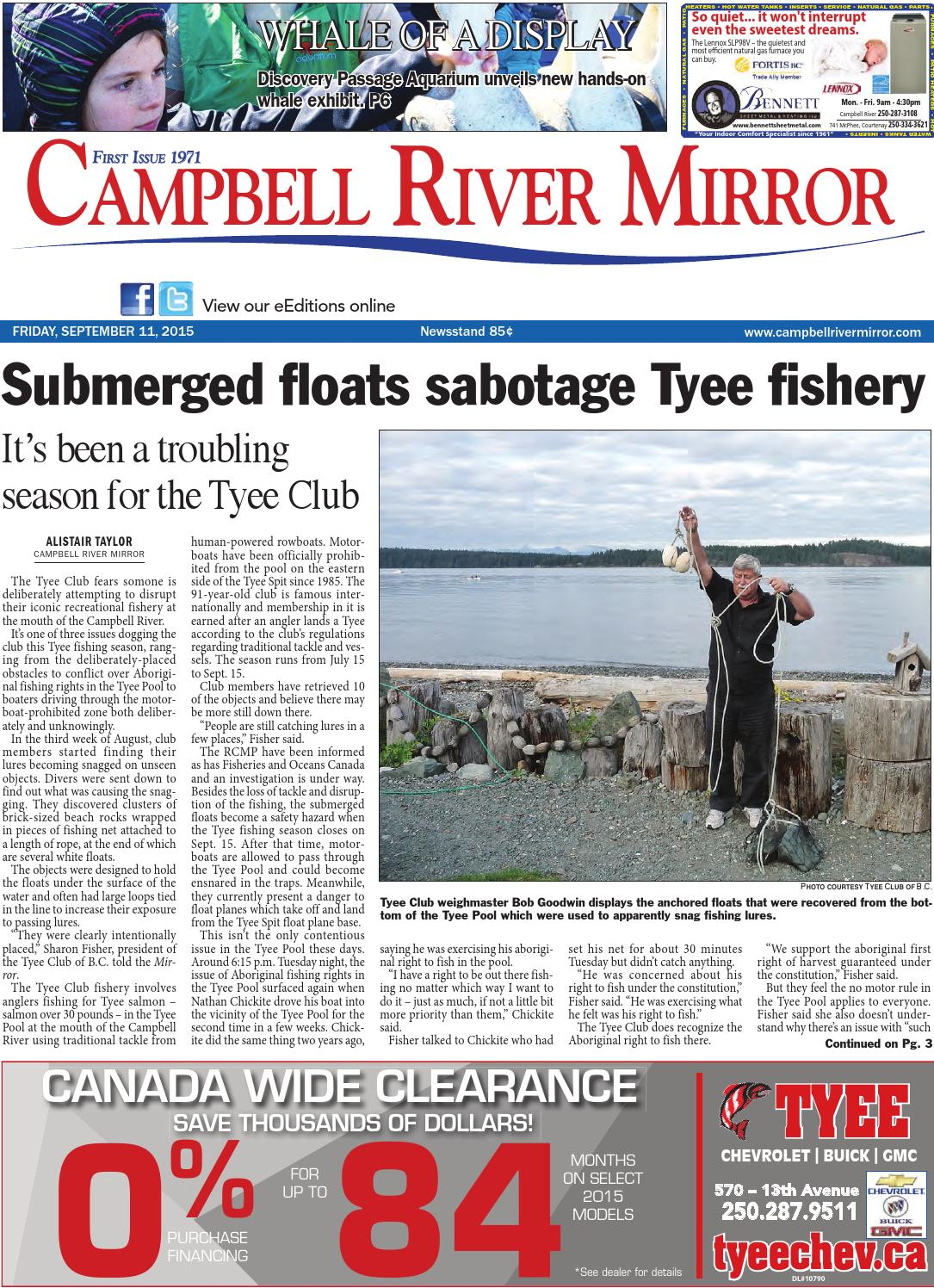 Campbell River Mirror September 11 2015 By Black Press
