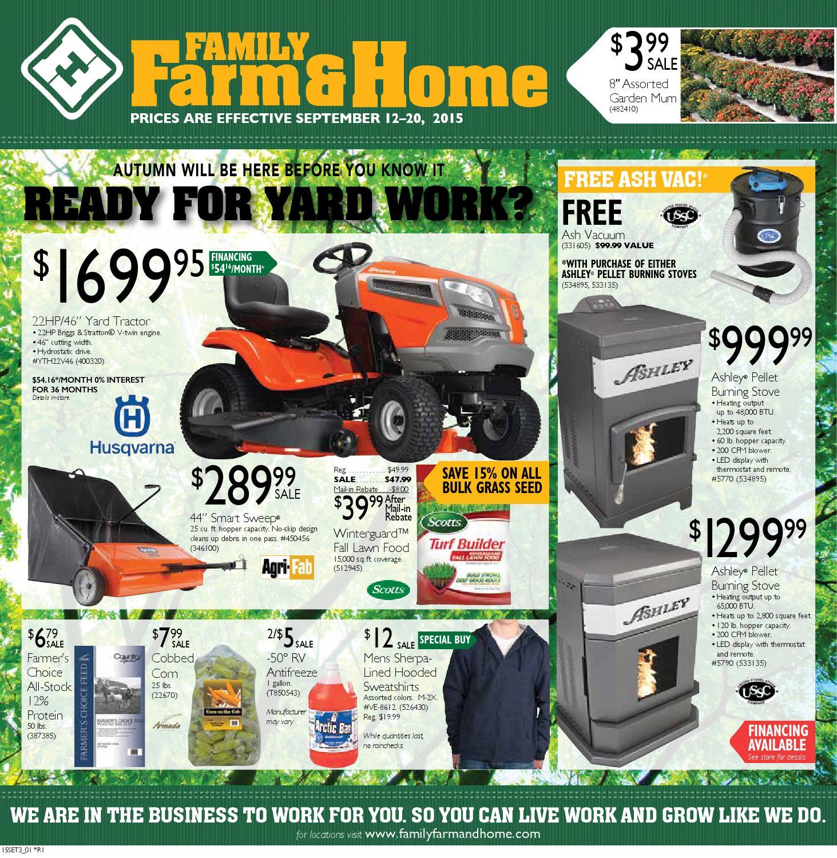 Family Farm Amp Home Set3 Ad Effective September 12 20