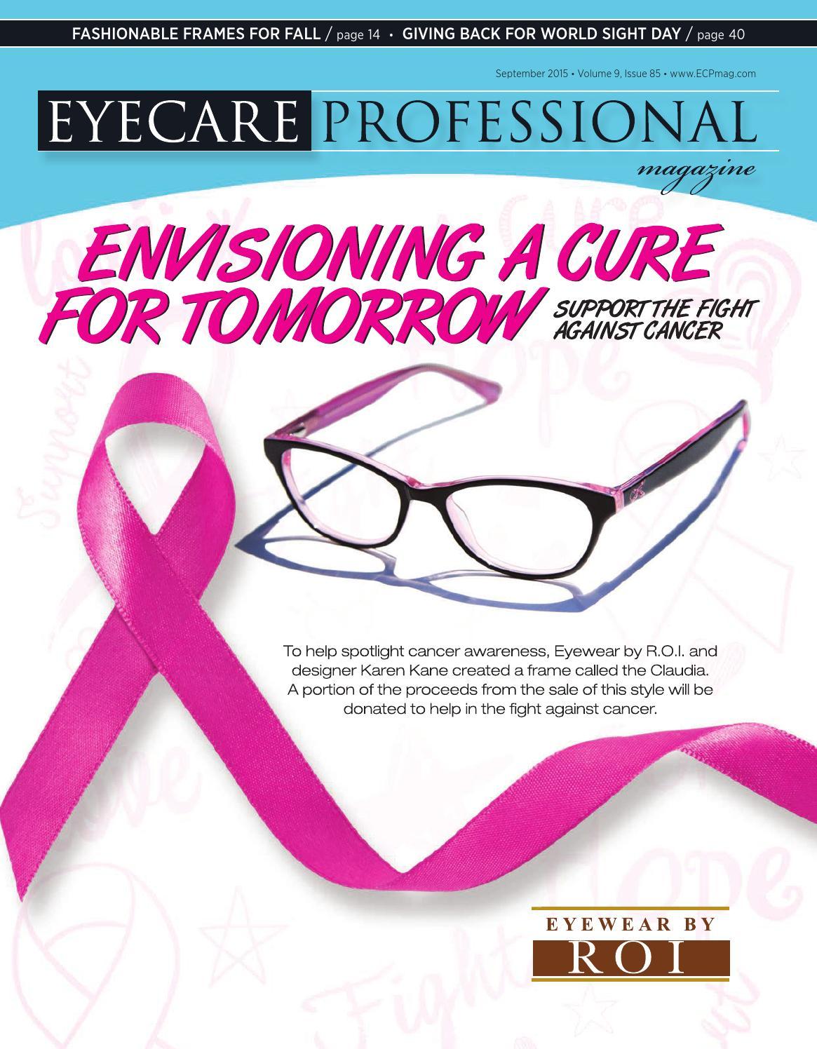 Eye care professional magazine september 2015 issue by ecp eye care professional magazine september 2015 issue by ecp magazine issuu geenschuldenfo Choice Image