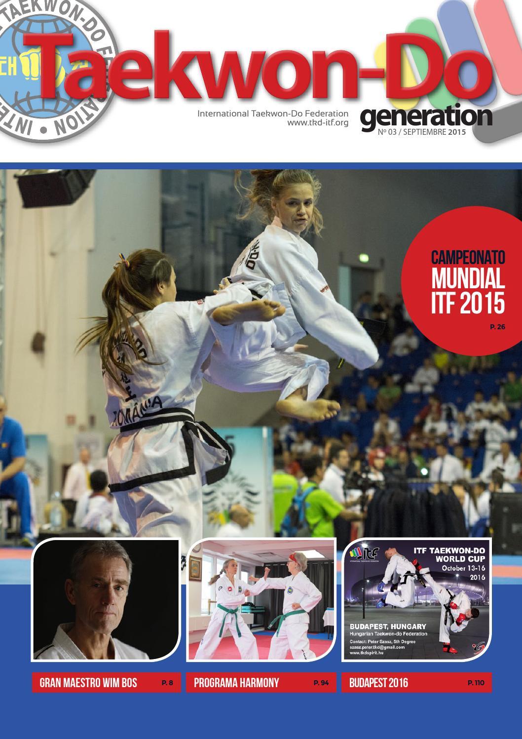 TAEKWON-DO GENERATION nº 03 by TKD ITF - issuu
