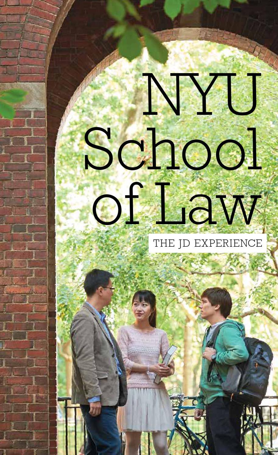 2015 Nyu School Of Law Admissions Brochure By Nyu School Of Law Issuu
