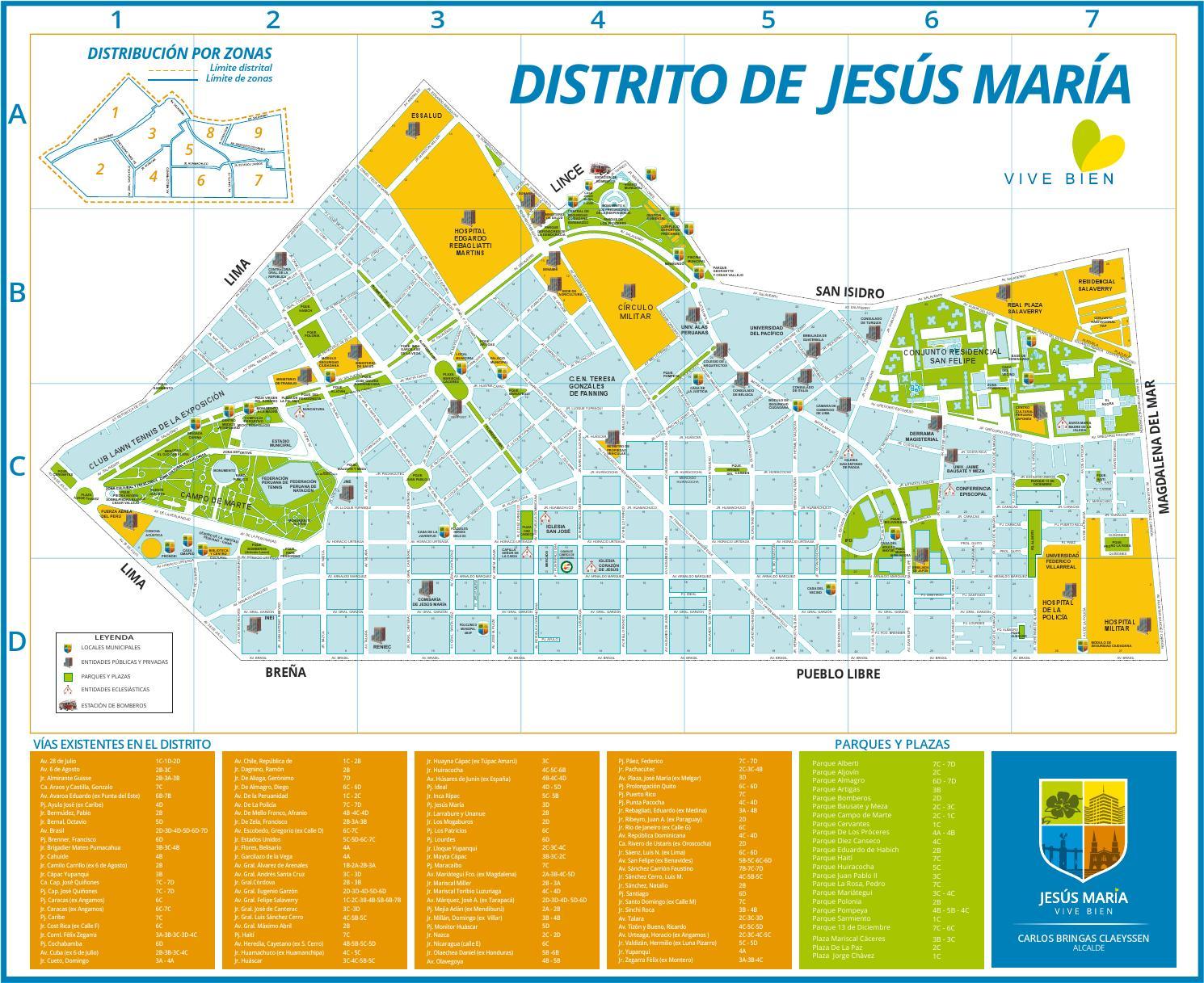 gu237a y calles by municipalidad de jes250s mar237a issuu