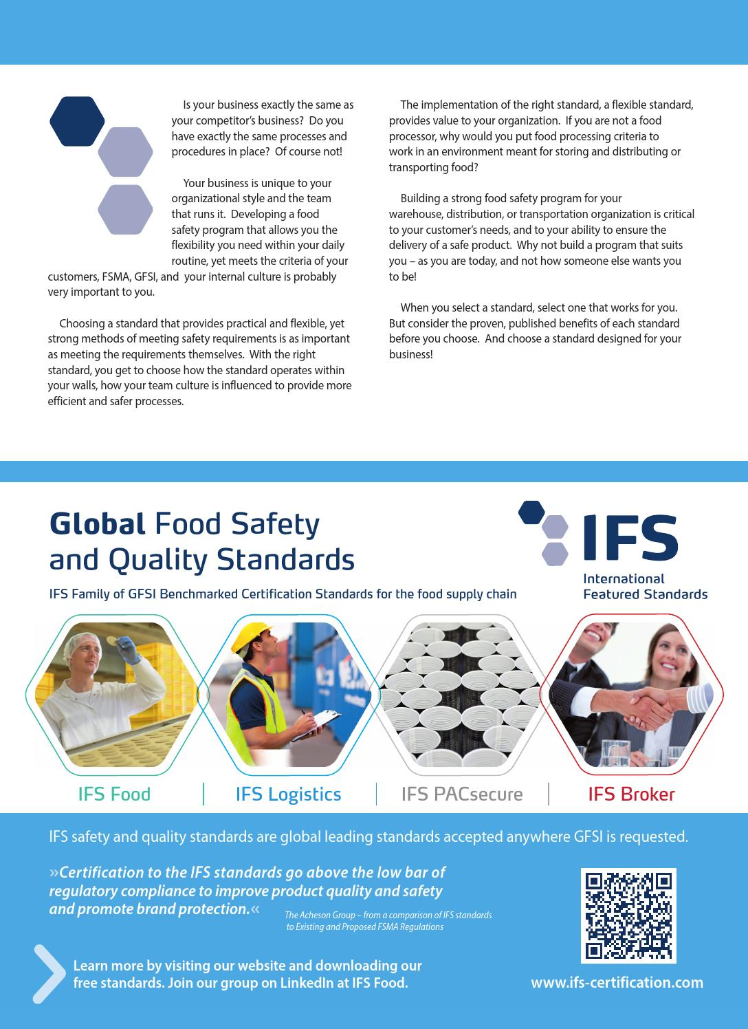 Food Logistics August 2015 by Supply+Demand Chain/Food