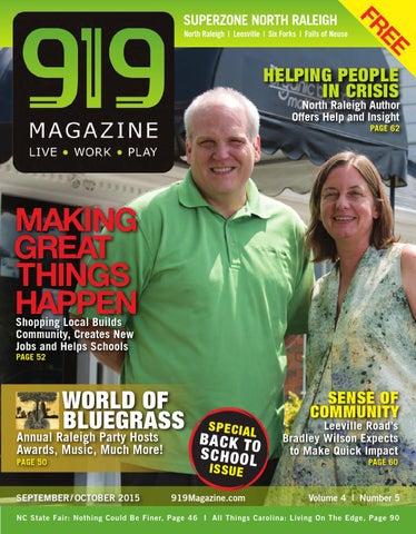 919 Magazine Super North Raleigh Sept/Oct 2015 by 919 Magazine - issuu
