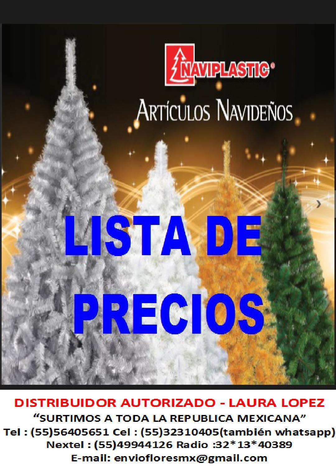 Lista de precios arboles y navidas by laura lopez issuu for Lista de arboles perennes