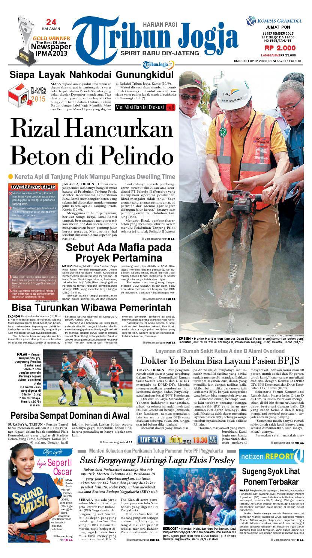 Tribunjogja 11 09 2015 By Tribun Jogja Issuu Produk Ukm Bumn Kain Batik Eksklusif Lasem Manuk