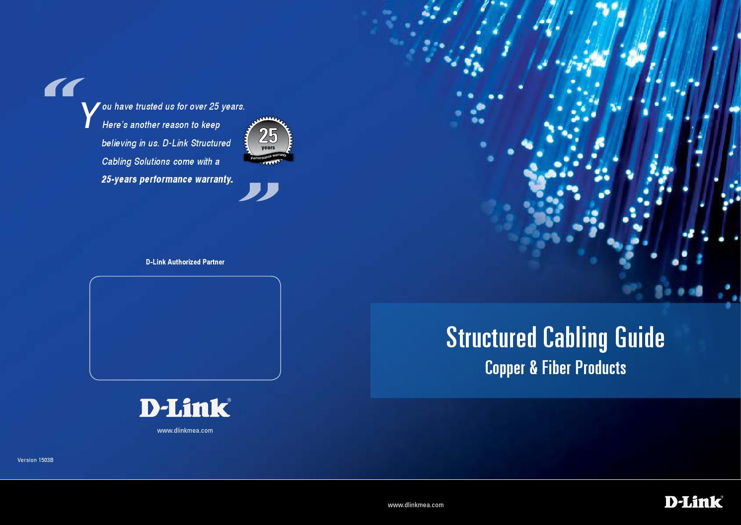 D Link Structured Cabling Solution Guide 2015 By Saudi Arabia Ethernet Plug Wiring Arrange Wires Per Eiatia T568b Issuu