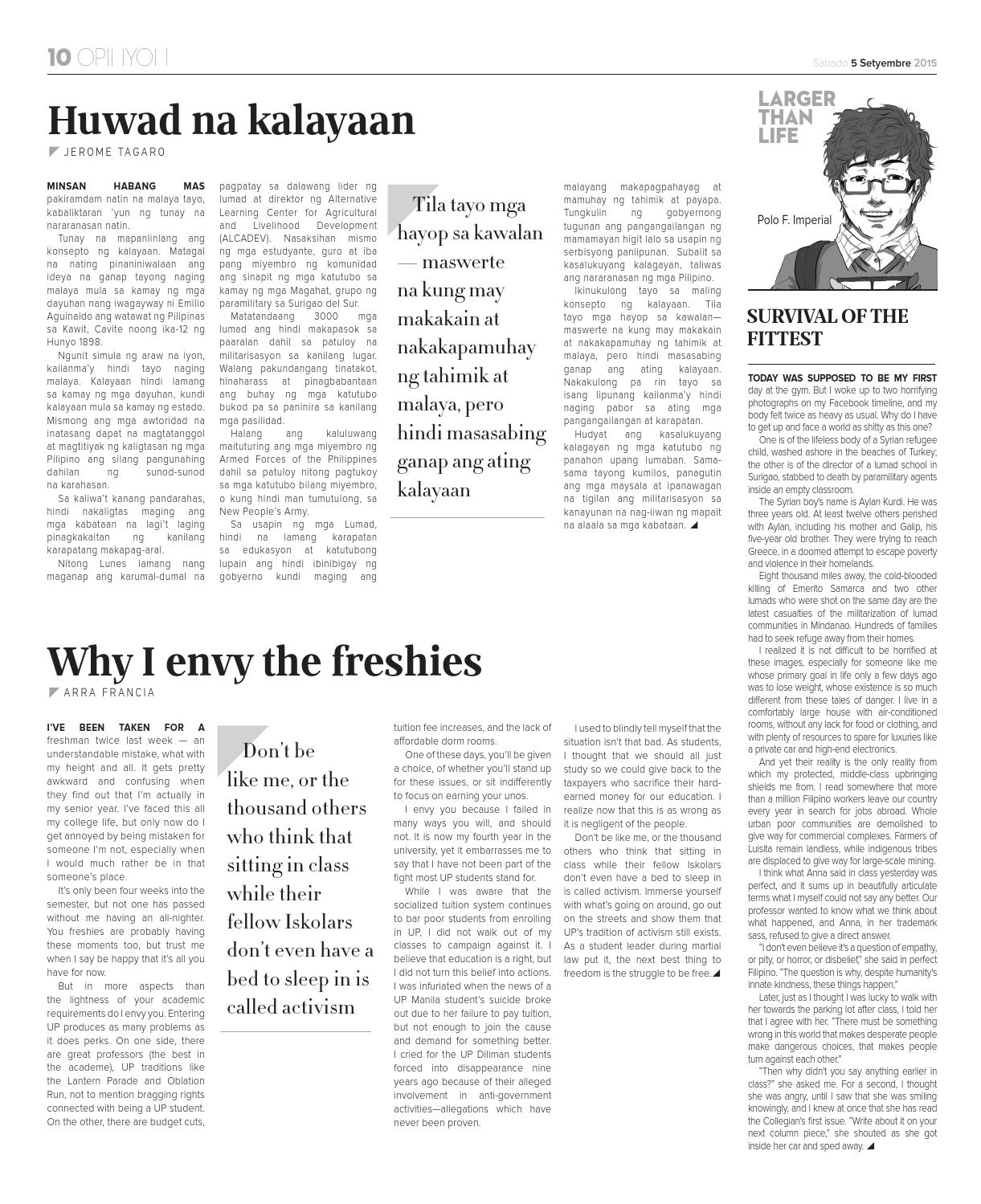 Philippine Collegian Tomo 93 Issue 2 by Philippine Collegian