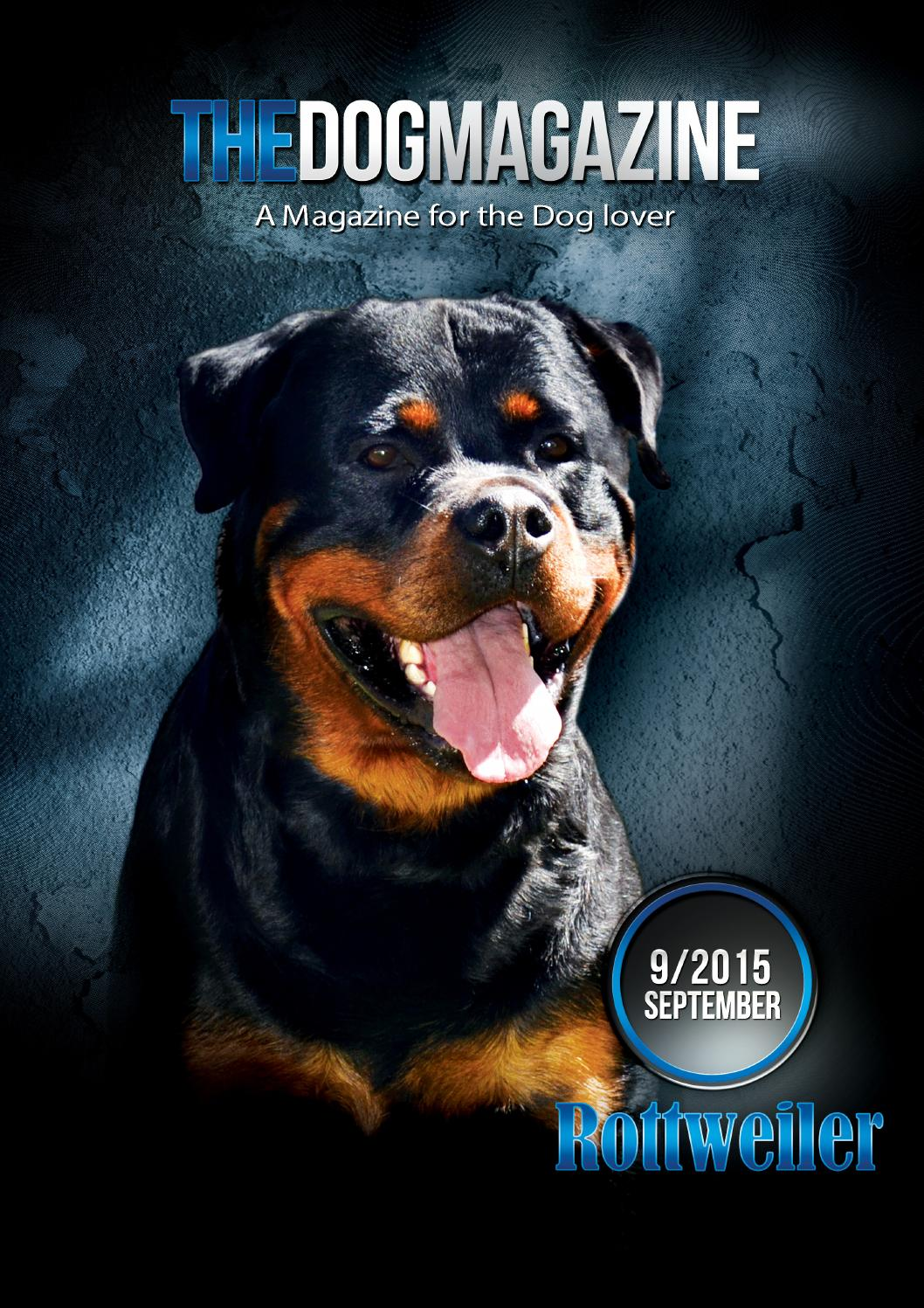 The Dog Magazine Issue 09 2015 Rottweiler By